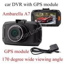 On sale with GPS module Ambarella A7 Car DVR GS90A Camera HD Recorder Night Vision Dash Cam digital video camcorder track record