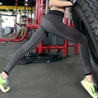 Sweat absorbing tleggings ankle length trousers slim butt-lifting quick-drying fitness Leggings