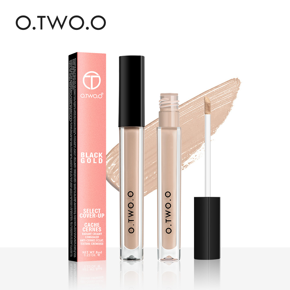 O.TWO.O Makeup Concealer Liquid Concealer Pohodlný Pro Eye Concealer Cream 4 Colours New Dark Skin Face Contour Concealer
