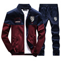 Mens Tracksuits Sets Mens Sweat Suits Brand Jogger Jacket + Pants Sporting Suit Hip Hop Sweatshirts Sudaderas Hombre