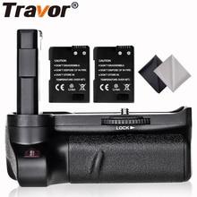 Travor Новое поступление Батарейный держатель для Nikon D3400 DSLR камера+ 2 шт. EN-EL14 батарея+ 2 шт. ткань для объектива