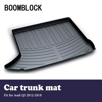 BOOMBLOCK Car Special Trunk Floor Foot Mat Pad Non-slip Dustproof Interior Accessories For Audi Q3 2018 2017-2012