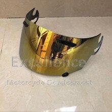 Обновление укрепление Золотой шлем козырек для Arai RX7 RR5 RXQ Corsair Quantum Vector Chaser V Axcess 2