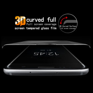Image 5 - Für Sony Xperia XA1 3D Gebogene Volle Abdeckung Gehärtetem Glas für Sony XA1 G3112 G3116 Dual Sim Screen Protector Schutz film