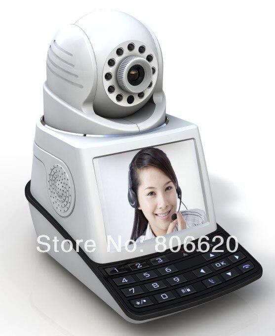 P2P H.264 Câmera Do Telefone de Rede de Alto Desempenho de Vídeo Sem Fio Com Alarme & 3G chamadas de vídeo o transporte Da Gota disponível