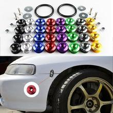 Многоцветные крепежные шайбы заднего переднего бампера с фиксированной пряжкой быстросъемные винты