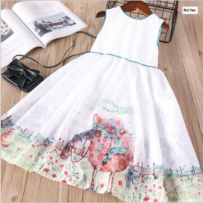 Y32089046 Baby Girl Dress Summer Girls Dress Pattern Kids Dresses For Girls Princess Party Wedding Baby Dress Kids Clothes цена