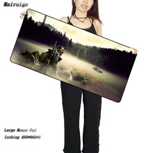 STALKER Game Mouse Pad Large Gaming Mouse Pad Locking Edge Mouse Mat Speed Version for Dota CS GO Mousepad 5 Sizes As Gifts control speed mouse pad mat large 920 293 3 gaming edition locking edge free shipping