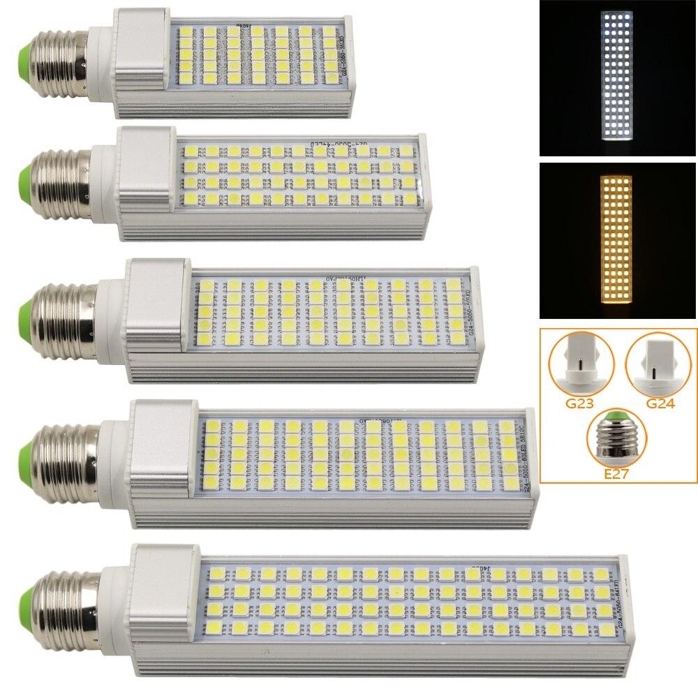 1Pcs New 5050 SMD Chip E27 G23 G24 Led lamp 35 44 50 60 64 Leds Corn Light AC85-265V Lampada For Home Spotlight Lighting r7s 15w 5050 smd led white light spotlight project lamp ac 85 265v