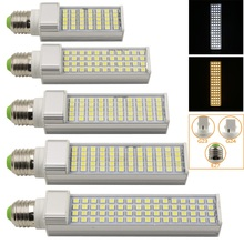 1Pcs New 5050 SMD Chip E27 G23 G24 Led lamp 35 44 50 60 64 Leds Corn Light AC85-265V Lampada For Home Spotlight Lighting(China)