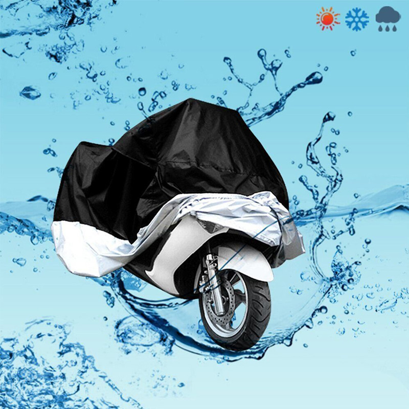 Motorcycle Cover Outdoor UV Waterproof For Dustproof Scooter Covers UV Snow Resistant PEVA Heavy Racing Bike Protective Scooter(China)