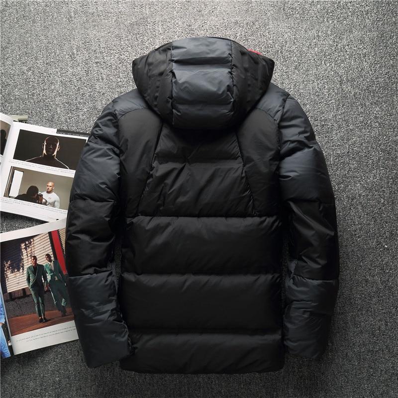 Épais Bas Marque Canard Vestes Vers Neige De D'hiver Chaud Haute Survêtement Qualité Vêtements Homme 90 Blanc Mâle Parkas Le Manteaux Awn07q
