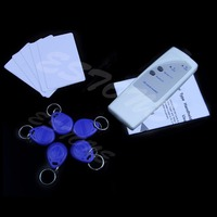 New Handheld RFID ID Card Reader Copier Writer Duplicator 5 Keyfobs 5 Cards