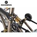 ROCKBROS Bike Shocks Titanium Brompton Bicycle Rear Coil Spring Suspension Outdoor Sports MTB Mountain Road Cycling Parts