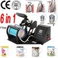 Doul дисплей 6 в 1 комбо пресс-машина для пчеати на кружках оборудование для печати на кружках сублимационный принтер для 6 унций/9 унций (15 см)/11 ...