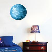 4 Color Fluorescent Moon Wall Stickers Home Decor Decoration Glow In The Dark Stars Luminous Wall