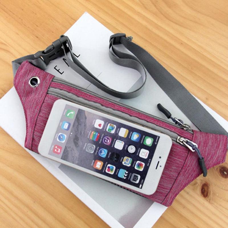 Dedicated Waist Bag Women Men Fashion Neutral Outdoor Zipper Sport Canvas Messenger Chest Bag Bolsa Cintura Belt Bag For Running Fine Jewelry