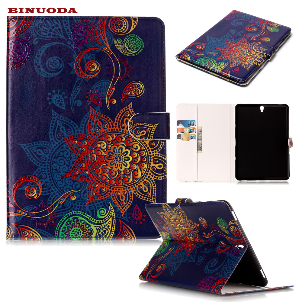 New Case for Samsung Galaxy Tab S3 9.7 T820 T825 Folding Folio PU Leather Stand Cover Case For Galaxy Tab S3 9.7 TPU Back Skin new fashion tab s3 9 7 tablet case pu leather flip cover for samsung galaxy tab s3 9 7 inch t820 t825 cute stand cover 6 colors