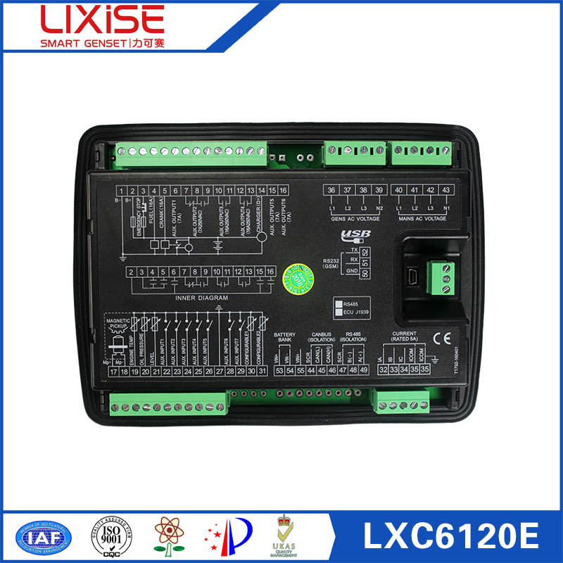 LXC6120E Completely replaced dse6120 genset control module of generator ats panel aliexpress com buy lxc6120e completely replaced dse6120 genset dse702 wiring diagram at readyjetset.co