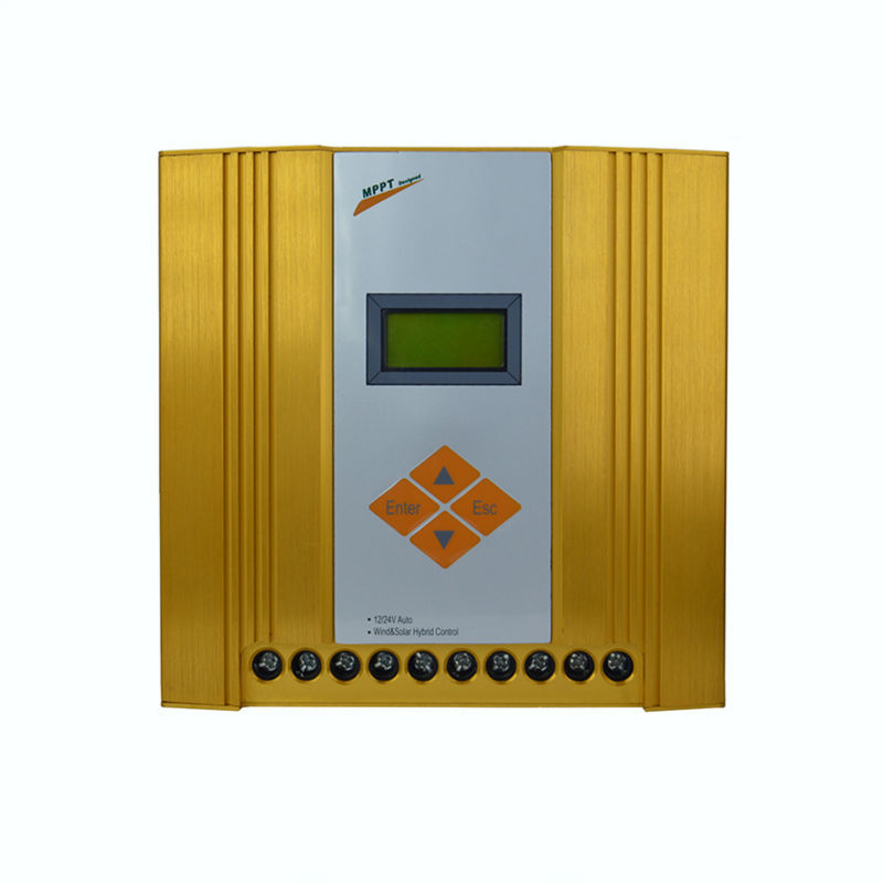 MAYLAR@ Free shipping 12V 24V Auto Hybrid MPPT Controller,LCD Display,Wind Turbine(100W-600W)+Solar Panel(150W-360W) wind and solar hybrid controller 600w with lcd display charge controller for 600w wind turbine and 300w solar panel 12v 24v