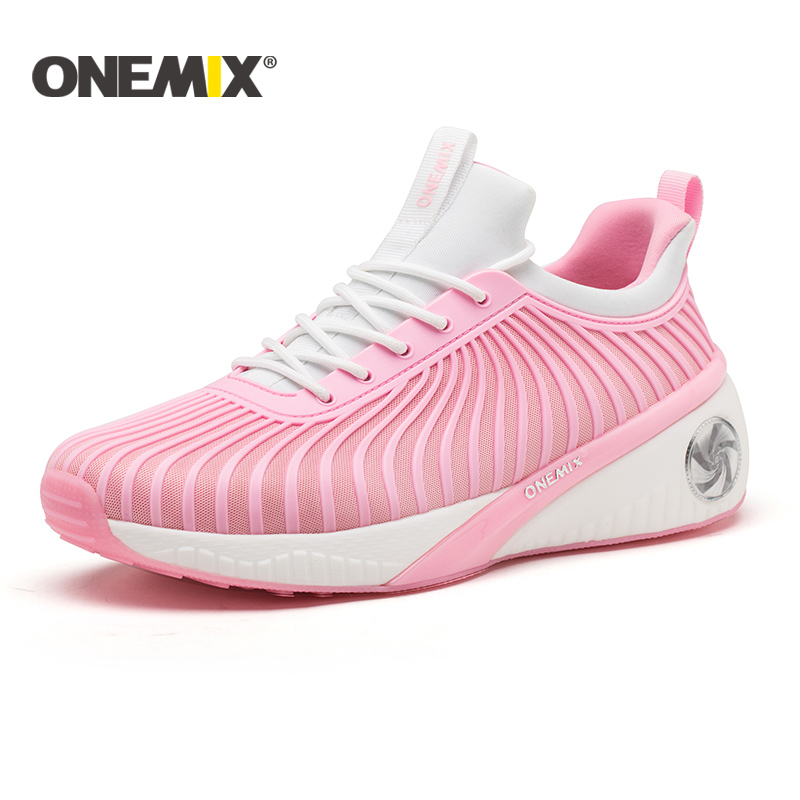Onemix new height increasing shoes women running shoes sport sneakers for women outdoor walking shoes light jogging sneakers onemix 2017 new men running shoes breathable boy sport sneakers unisex athletic shoes increasing height women shoes size 36 45