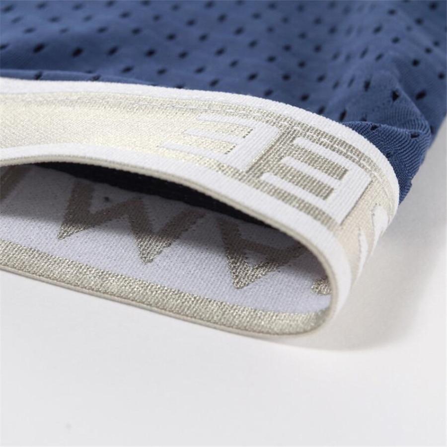 5Pcs\lot  Panties  Men's  Underwear boxer short Modal Mesh Scrotum Care Capsule Function Youth Health Seoul convex separation