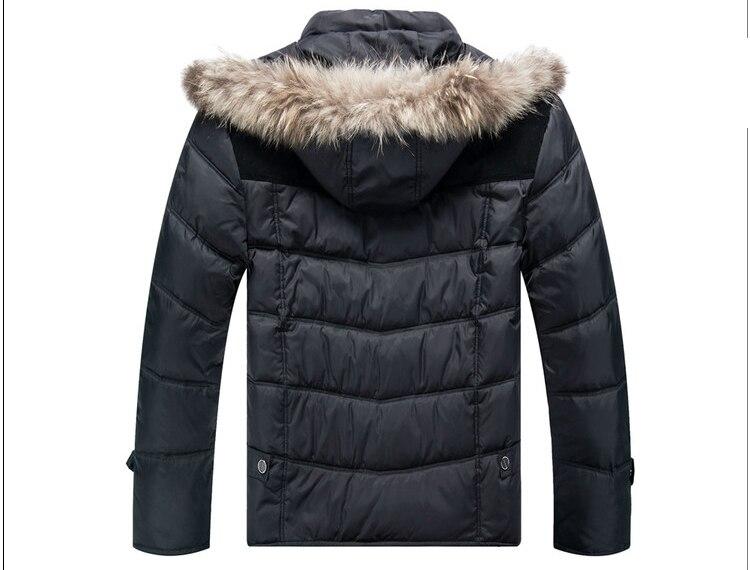 Winter warm 25 graden dragen thicken jas heren jas merk kwaliteit jas grootste plus size XL 8XL 9XL 10XL 11XL 12XL 13XL-in Donzen jassen van Mannenkleding op  Groep 3