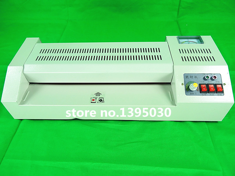 1pcs A3 laminator hot and cold lamintor laminating machine 320 hot laminator hot machine laser automatic cd disk uv coating machine laminating coater extrusion laminator with high quality on hot sales
