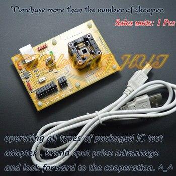 IC TEST STM8-TQFP32 Core board STM8A STM8S STM8L QFP32 Download seat test socket Programmer adapter
