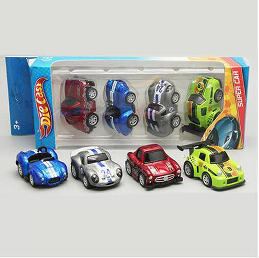 Striped Alloy Pull Back Sliding Mini Sports Car Boys Child Toys  # Modele Banc En Bois