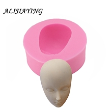 3D Boy man Face Silicon Mold Head Mould Cake Decorating Tools Sugar Craft Baking Accessories D0868