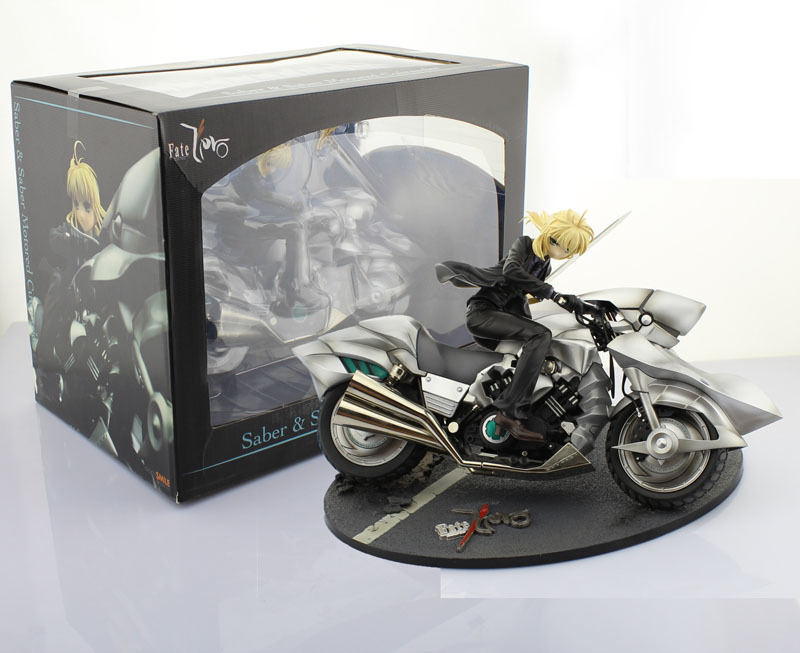 Free Shipping Cool 10 Fate Zero Fate Stay Night Saber Motored Cuirassier 1/8 Scale PVC Action Figures Collection Model Toy Gift fate zero volume 1