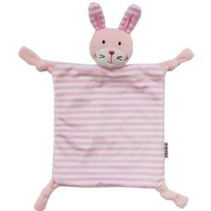 Image 5 - Noworodek maluch dzieci pluszowy ręcznik zabawka kot kreskówkowy królik grzechotka zwierzątko zabawka dziecko śpiące noworodka wypchane lalki komfort ręcznik