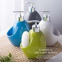 Керамическая бутылка для жидкости ручной стирки ванная комната