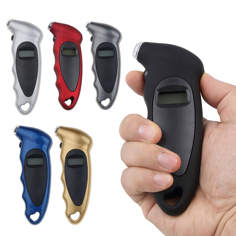 Sikeo Tire Pressure Gauge 0-150 PSI  Backlight High-precision Digital Tire Pressure Monitoring Car Tire Pressure Gauge(China)