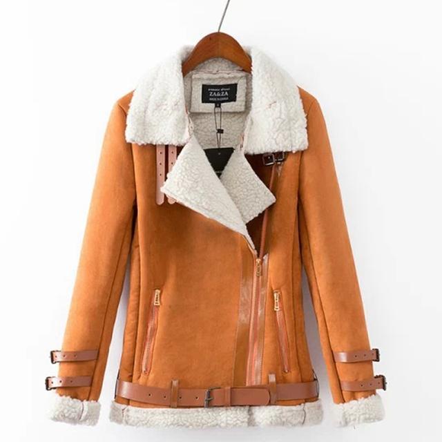 2015 mujeres del invierno de la cachemira escudo de solapa ocasionales adelgazan más el terciopelo chaqueta Cardigan abrigo