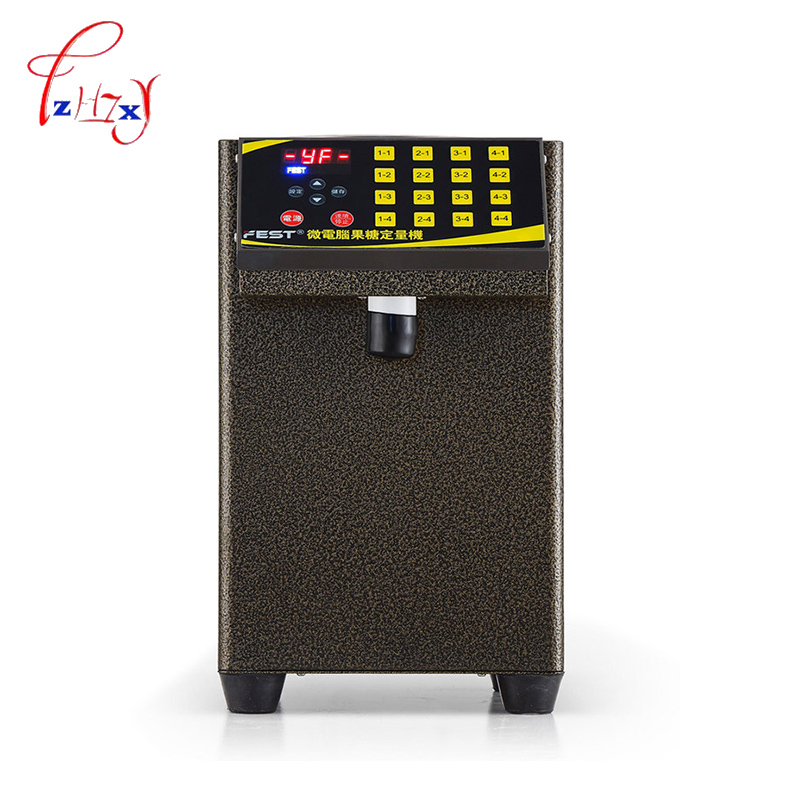 Fructose machine 16 grid Fructose Quantitative machine  Automatic Fructose Dispenser Syrup dispenser for coffee/Bubble tea 1pc quantitative risk assessment for maritime safety management