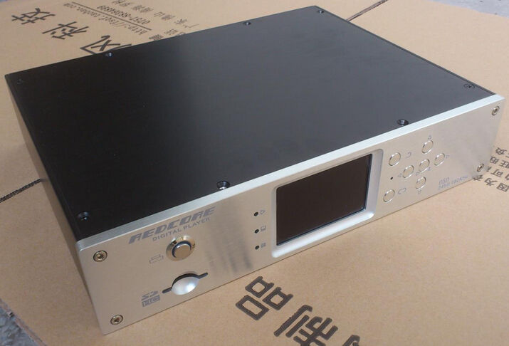 300A silver full Aluminum Preamplifier player enclosure/amplifier chassis BOX genius hs 300a silver