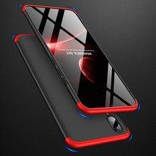 VIVOV11 360 Degree Full Protection Hard Case For VIVO V11 Back Cover shockproof case + glass Film for