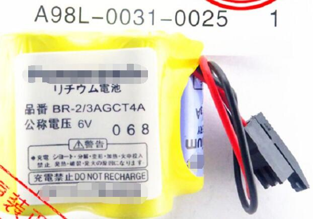 Packages mailed original BR-2/3AGCT4A 6v control in the lithium battery The black plug. the original american general motor protector gps1bsaj 4 6 3 a home furnishings