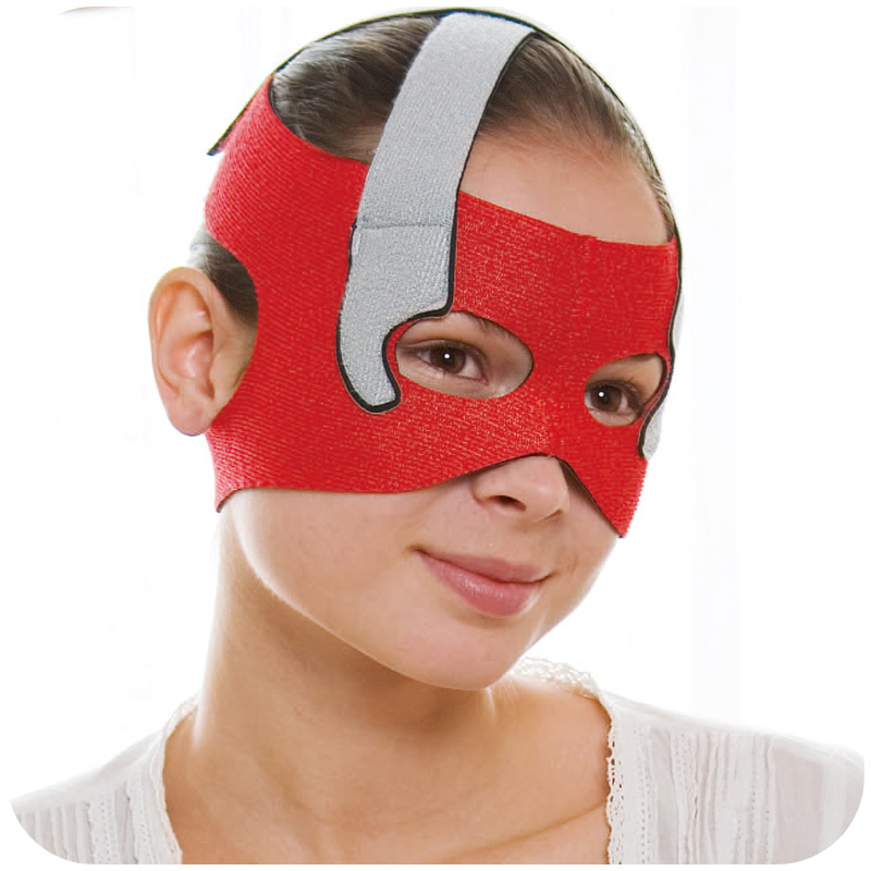 Japan Cogit Beauty Face Lift Mask for Eye Hole Sauna support Face Slimming Lifting Face Line Belt Strap for Eye Socket End Care цена
