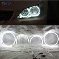 FSYLX CCFL LED Angel Eyes for LEXUS IS200 IS300 LED CCFL Car Headlight DRL Halo Rings For TOYOTA ALTEZZA Car LED CCFL angel eyes