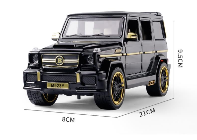 Big g brabus g65 car model 1/24 diecasts & toy vehicles collection sound&light car toys for boy children gift brinquedos