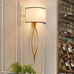 Chandelierrec современный светодио дный E14 бра для Гостиная Спальня постели декора светильники творческие современный настенный светильник