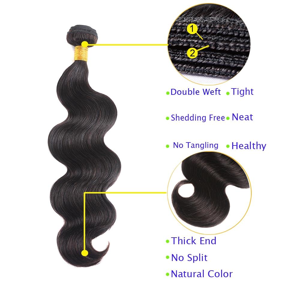 SHENLONG Μαλλιά σώματος Μουγκολέζικες - Ανθρώπινα μαλλιά (για μαύρο) - Φωτογραφία 3