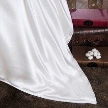 4a qualidade 100% amoreira seda filliing edredon com 16 mm capa de seda rei tamanho 90x90 polegadas e 220x260 cm colcha personalizar