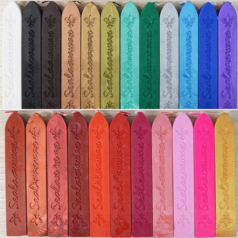 Sceau mèche bougie timbre Postable bougie étanchéité cire avec mèche recharges Vintage cordon mèche Vintage étanchéité cire timbres