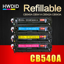 Hwdid cb540a cb540 540a 540 cb541a cb542a cb543a 125aトナーカートリッジ互換用hp laserjet cp1215 cp1515n cp1518ni cm1312(China)
