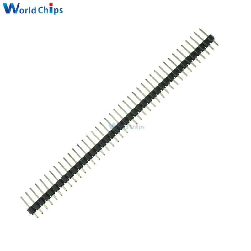20Pcs 40Pin 2.54mm Single Row Straight Male Pin Header