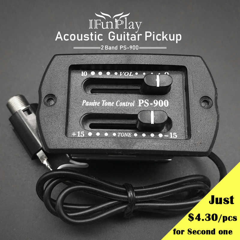 10Pcs PS 900 2 Band EQ Preamp Guitar Pickup Passive Volume
